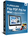 caixa de tiro de PDF Flip Pro for Mac